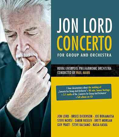 CONCERTO FOR GROUP & ORCHESTRA BY LORD,JON (Blu-Ray)